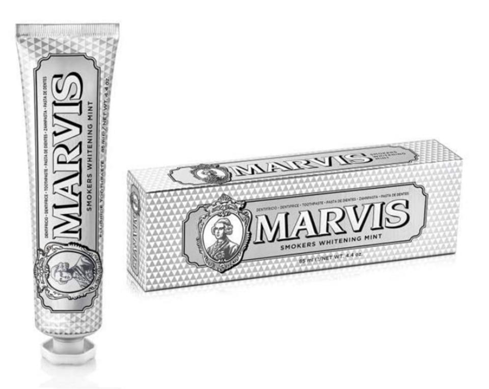 Balinanti mėtų skonio dantų pasta rūkantiems MARVIS, 85ml