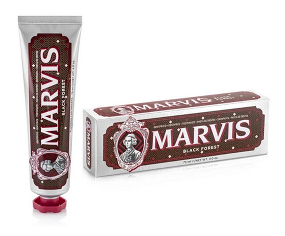 Mėtų, vyšnių ir šokolado skonio dantų pasta MARVIS, 75ml